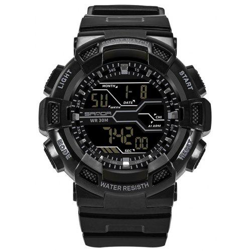 Sanda 378 4453 Outdoor Date Dispaly Male Watch