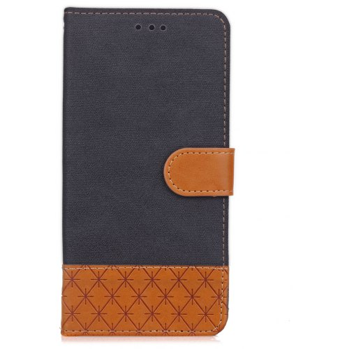 low priced bd95e af7dd Jeans Texture Pattern Stitching PU Leather Wallet Case for LG G5