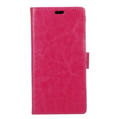 KaZiNe Crazy Horse Texture Leather Leather Case para ZTE A506