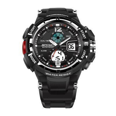 Sanda 289 5300 Double Movement Sports Male Watch