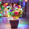 10M 100-LED Silver Wire Strip Light 1PC - COLORFUL