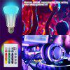 SUPli Timing RGB Changing LED Bulb Remote Control Memory Light - RGB