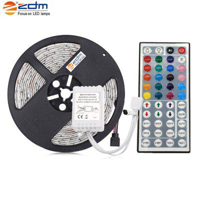 ZDM Waterdichte 5 M 75 W 300X5050RGB SMD Licht Led Strip Licht 44KEY IR Afstandsbediening Kit DC12V