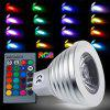 SUPli MR16 3W RGB LED Light Bulb Lamp Spotlight - RGB