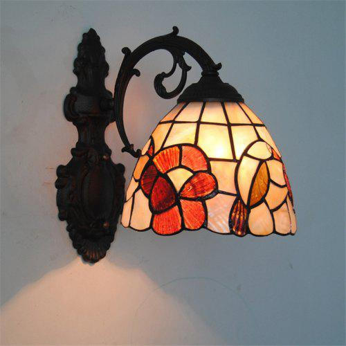 Modern Art Shell Crafts Nordic Shell Patch Lamp Shade Lustre Vanity
