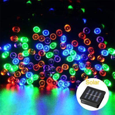 Supli Zasilane baterią słoneczną Christmas Lights String 10M 100 LED Dual Power Decorative Fairy Lights String