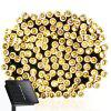SUPli Solar Battery Powered Christmas String Lights 10M 100 LED Dual Power Decorative Fairy String Lights - WARM WHITE