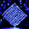 SUPli Solar Battery Powered Christmas String Lights 10M 100 LED Dual Power Decorative Fairy String Lights - BLUEBELL