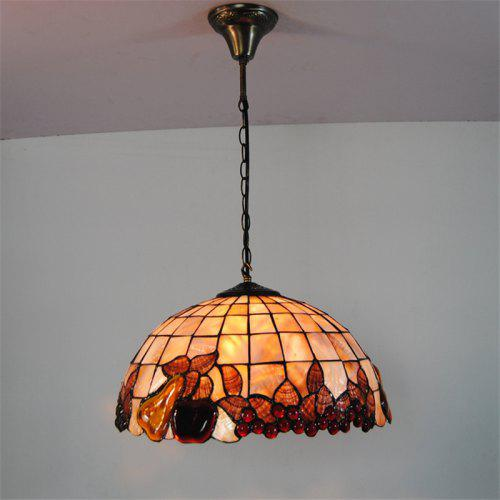 Modern Art Shell Crafts Nordic Shell Patch Lamp Shade Lustre Hanging