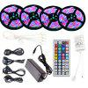 SUPli LED Strip Set 20M Waterdicht 1200LEDs 2835 RGB Strip Licht 44Key IR Afstandsbediening 8A Voeding AC100-240V - RGB