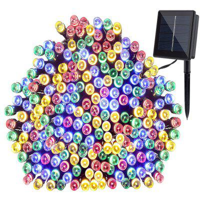 SUPli 50M 500 LEDs Dual Power Dekoracyjne Fairy Solar Christmas String Light