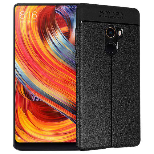 Smooth Litchi Pattern PU Leather Soft Back Case for Xiaomi Mi Mix 2
