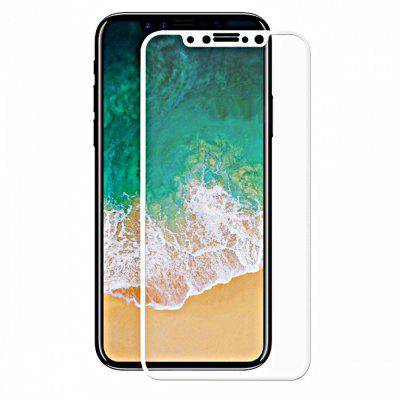 Minismile 0.2mm 9H Hardness 2.5D Full Screen Coverage Tempered Glass Screen Protector for iPhone X
