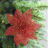 WS Decoration Artificial Simulation Pierced Flowers - RED