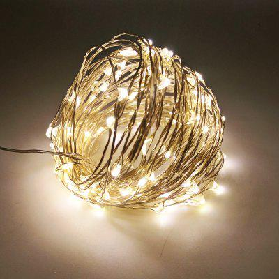 ZDM 10M USB Drut miedziany Wodoodporny LED String Light 100 LEDs do Festiwalu Christmas Party Decoration DC5V