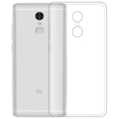 Transparent Slim Soft TPU Cover Case for Xiaomi Redmi Note 4