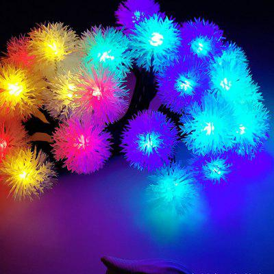 BRELONG Waterproof 4m 28LED Christmas Decorative Light String RGB EU Plug AC220-240V -Puffer Ball