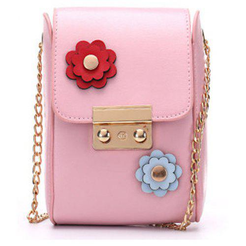 Mobile Phone Bag Female Stereo Mini Handbag Simple Small Hollow Hand
