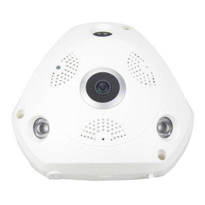 360 Degree Panoramic Wireless IP Camera WiFi 3.0 MP HD Fisheye Lens Wide Angle Night Vision VR CCTV Home Security Surveillance Cameras System