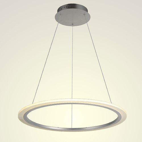Modern Simple Indoor Led Pendant Light Ring Hanging Lights Decorative Lighting Fixtures