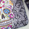 Creative Skull Pattern Antiskid Floor Mat - COLORMIX