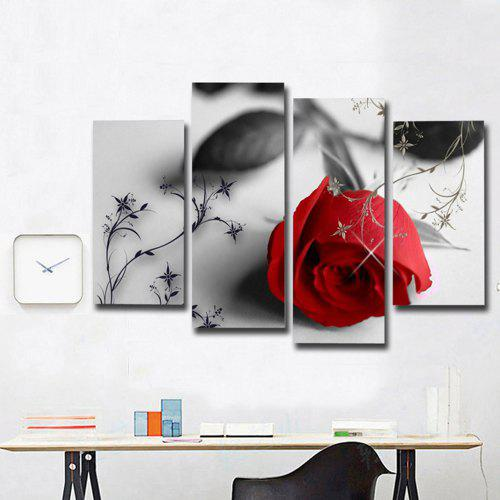 Glass Wall Art Tempered Print Acrylic Black and White Decor White Beautiful Horse 60 x 60 cm