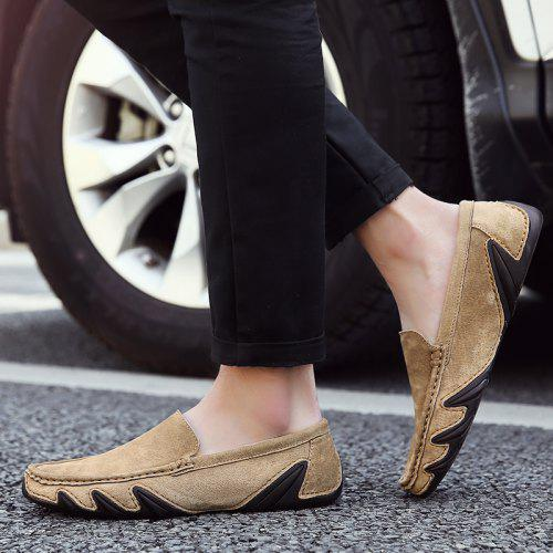 Chaussures Respirant Foot 42 Pour HommesCamel Confortable yvmNn0Ow8