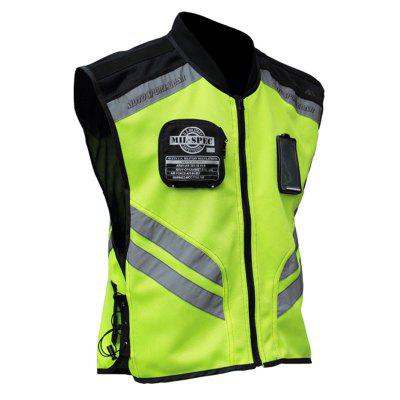 Riding Tribe Motorcycle Reflective Vest Clothing Motocross Body Armour Protection Jackets Clothes
