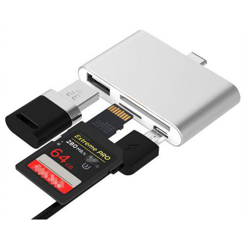 Tc41 Type C Hub Sd Micro Sd Card Reader With Usb Port 5 05 Free