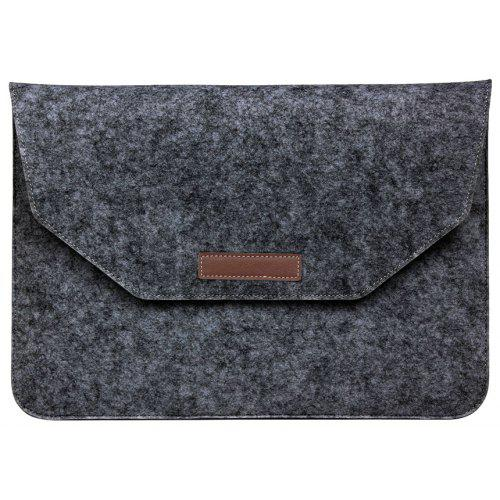 wake evenlope style soft felt sleeve back for laptop notebook tablet