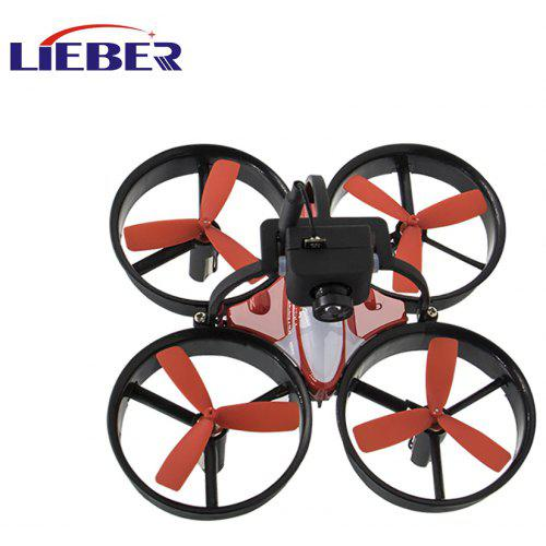 Lieber Birdy 1060 Mini FPV RC Drone Equipped with 600TVL HD Camera Transmitter 4.3 inch 5.8G 40CH LCD Monitor Receiver