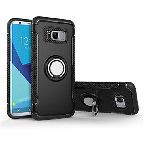 2 in 1 Shockproof 360 Degree Rotating Ring Stand with Case for Samsung Galaxy S8