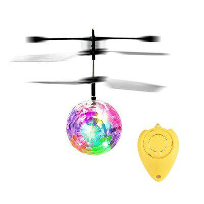 LED Light Crystal Ball Inductie Flying RC Helicopter