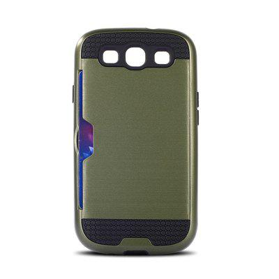 Drop-resistance Plug-in Card Case for Samsung Galaxy S3