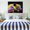 Modern Frameless Canvas Oil Painting for Home Decoration - COLORFUL