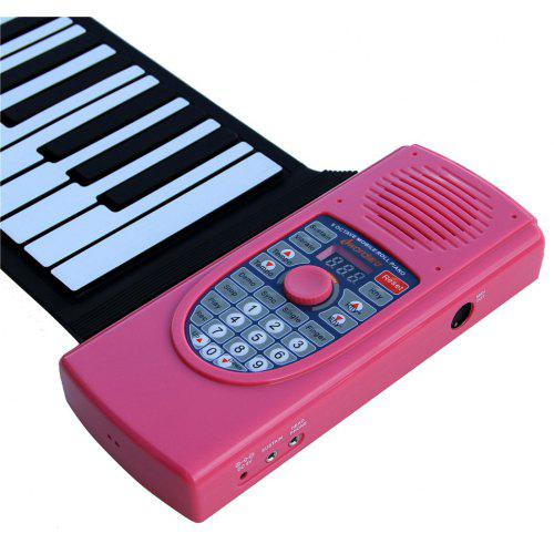 c1eead6d939 Iword S2090 Hand Roll Piano Flexible Roll Up 88 Keys Keyboard Portable  Silicone Piano