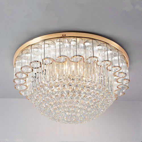 Gold Color Remote Dimming Ceiling Lamp