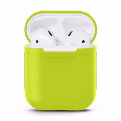 Silicone Shock Proof Protector Sleeve Cover da pele True Wireless Earphone Case for Apple AirPods
