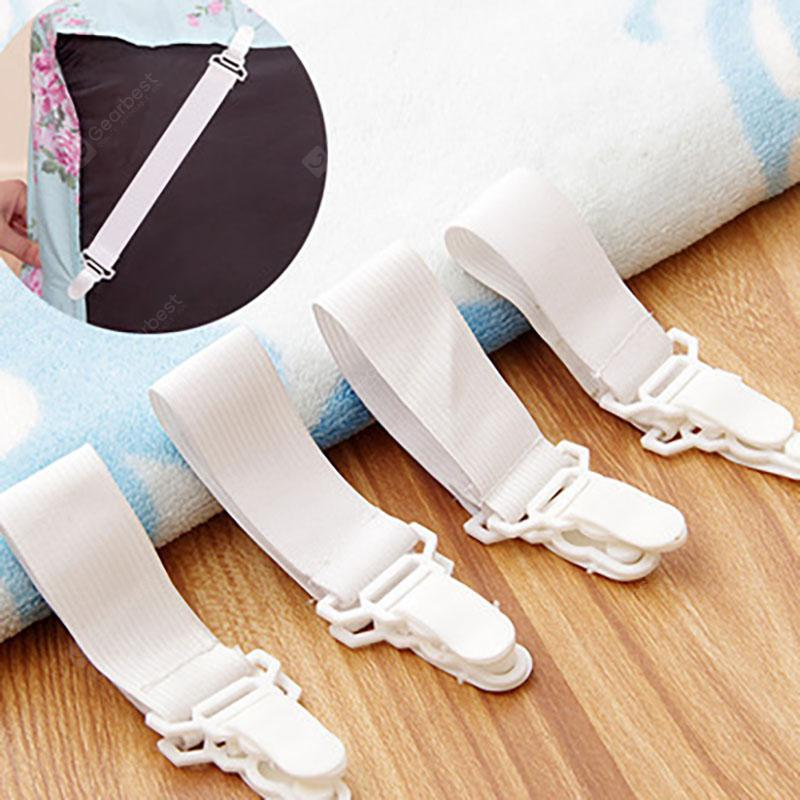 DIHE Bed Sheet Fixing Band Retaining Clip 4pcs