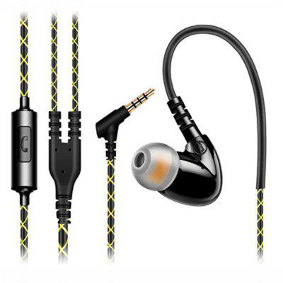 XY-F1 Sports Headset HIFI Sound Bass In-ear fones de ouvido