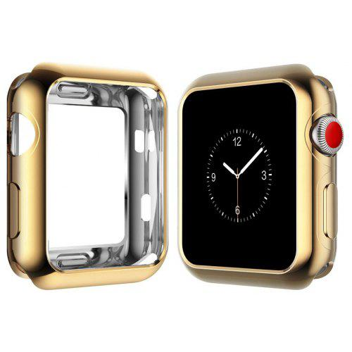 on sale 7ae46 016f1 42mm TPU Protective Case for iWatch Series 3 / 2 / 1 Plating Cover Shell  Bumper Case Protector