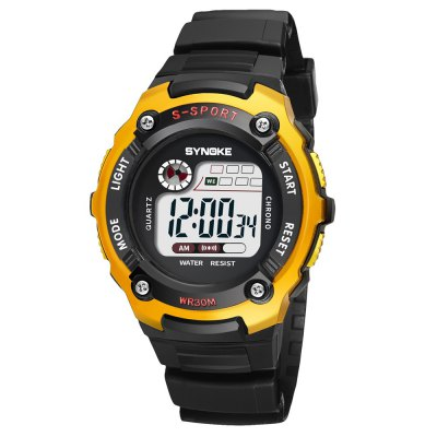 SYNOKE 99589 Multi-functional Waterproof Children Electronic Watch