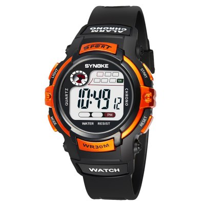 SYNOKE 99569 Luminous Waterproof Children Electronic Watch