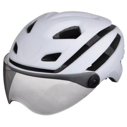 Ultralight Adjustable Bike Bicycle Helmet Cycling Helmets with Lens /& Tail light