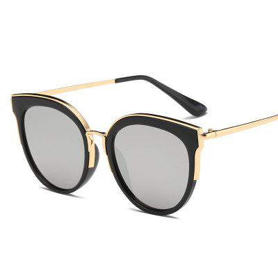 Trendy Stylish Colorful Lenses Sunglasses for Lady