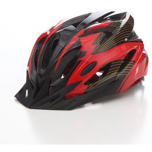Adult Cycling Helmet MTB Road Bike Bicycle Holes Safety Protective Gear W//Visor