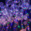 Christmas Party Bobo Balloons with LED String Light 3pcs - TRANSPARENT