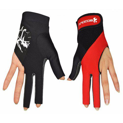 buying now best sneakers get online Boodun Men Woven Snooker Gloves Training Body Building Gym Billiard Sport  Gloves Fitness Yoga Cycling Gloves M260932