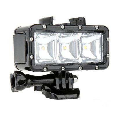 Video potápanie Light - 30M vodotesné 3 LED potápanie lampy Video Light