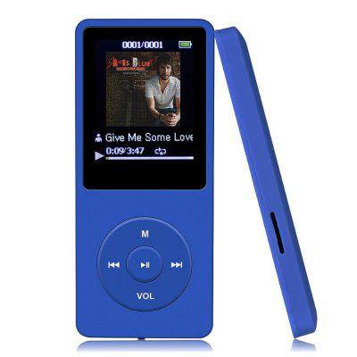 8GB MP3 Player 70 Stunden Wiedergabe Verlustfreier Sound Musik Player
